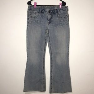 Silver Jeans Aiko Bootcut Light Wash Size 32